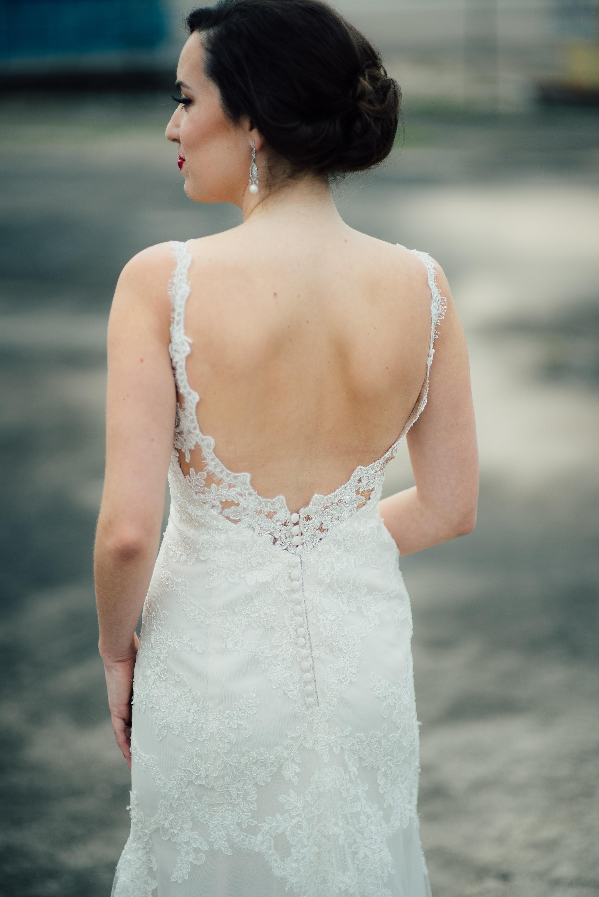 Lacey with a Low Back | Bridal Shop Houston TX | Whittington Bridal