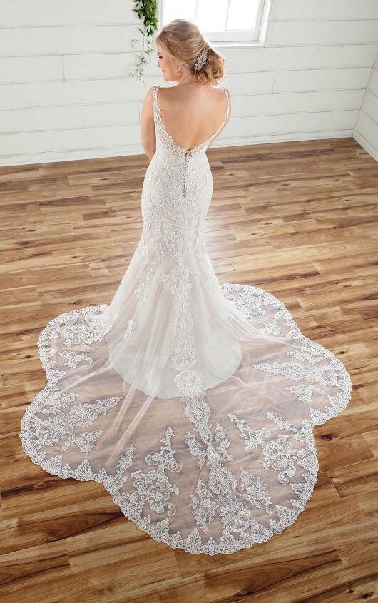 Zoey Scoop Back Dress   WearYourLove   Romantic Long